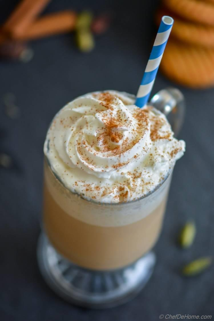Find out how to make Chai Tea Frappuccino at home | chefdehome.com