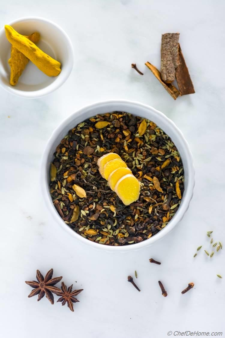 Chai Tea with Warm Spices