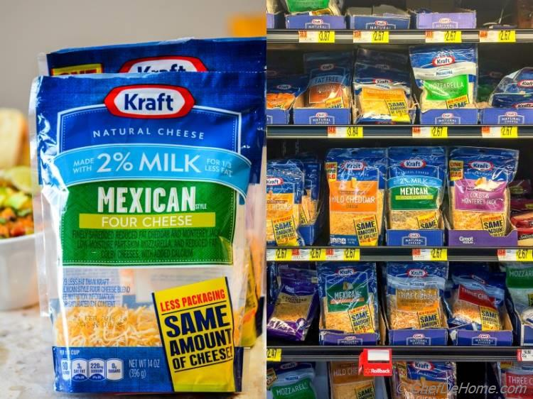 Krafts Natural Cheese at Walmart | chefdehome.com