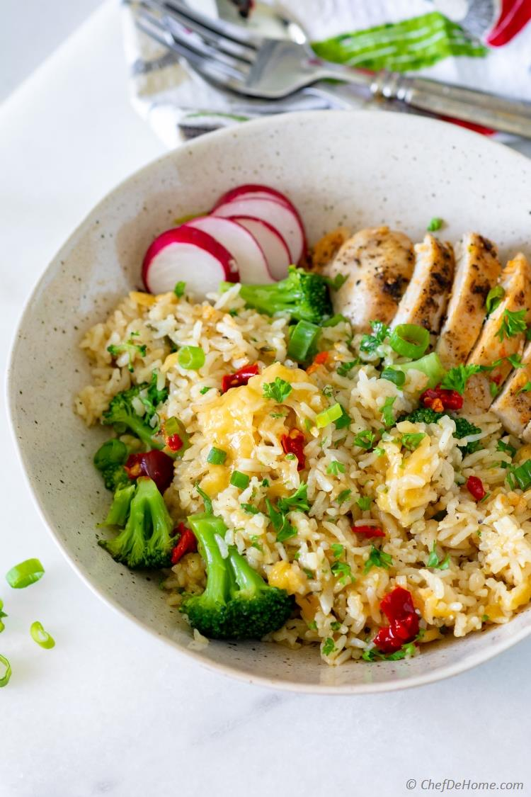 Chicken Rice Broccoli