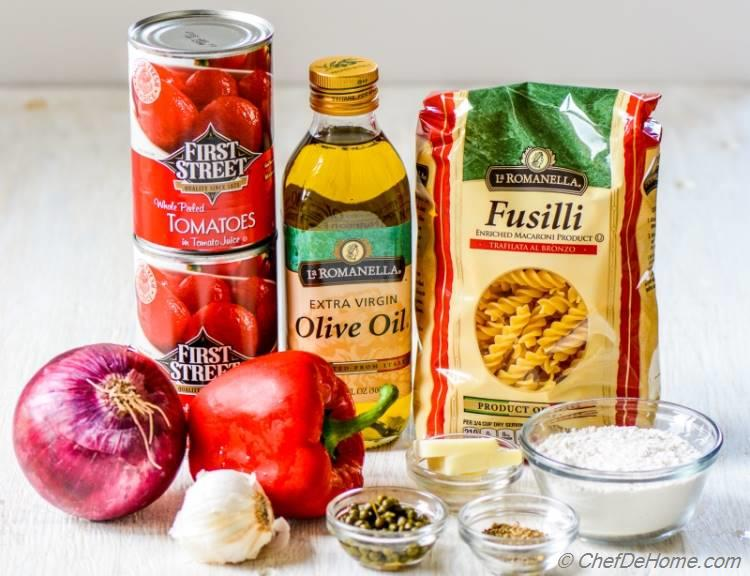 Chicken Cacciatore Ingredients | chefdehome.com