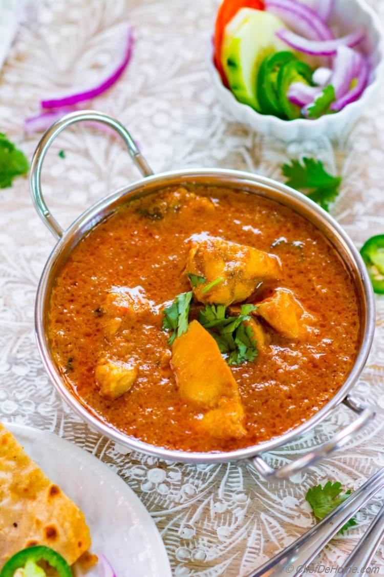 Chicken and Greek Yogurt Curry
