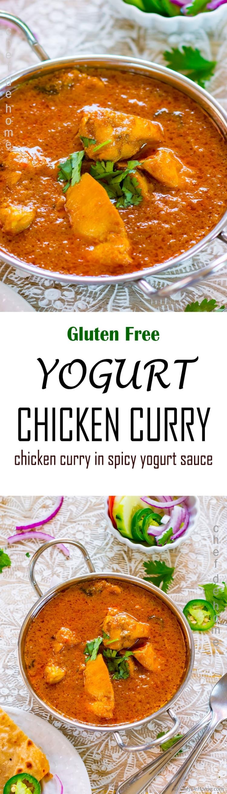 Yogurt chicken curry recipe chefdehome easy indian chicken yogurt curry forumfinder Image collections