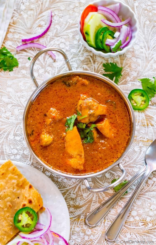 Easy Chicken and Yogurt Curry