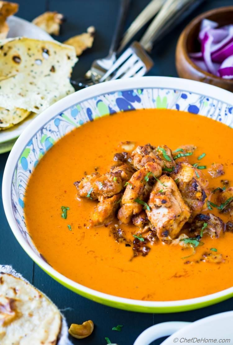 Chipotle Chicken Tikka Masala