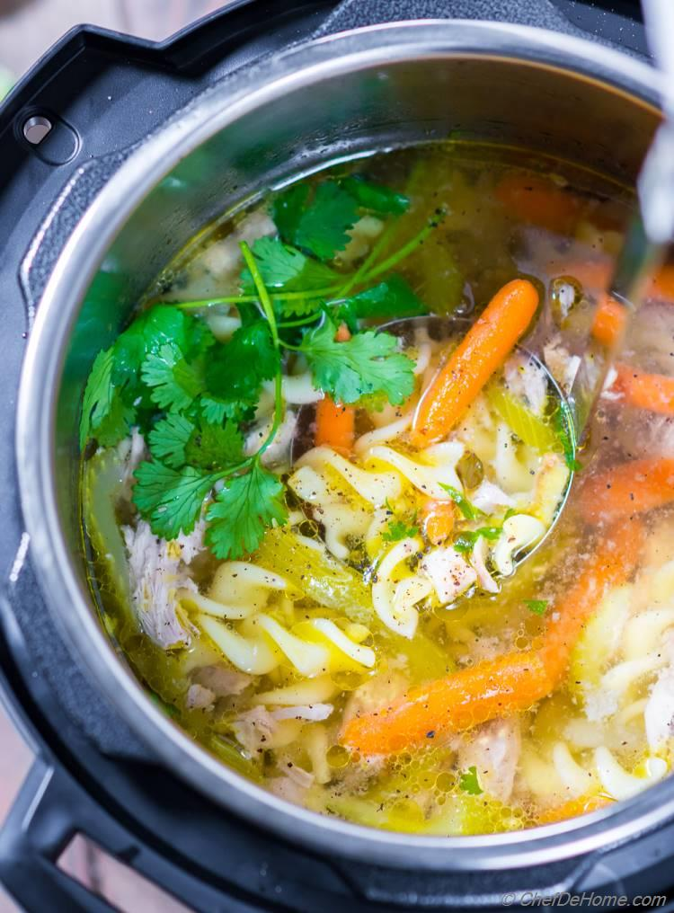 Best Ever Chicken Noodle Soup from Scratch