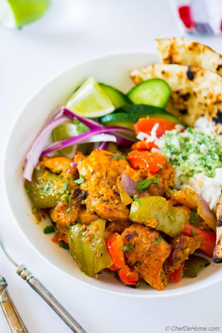 Indian Chicken Tikka Recipe