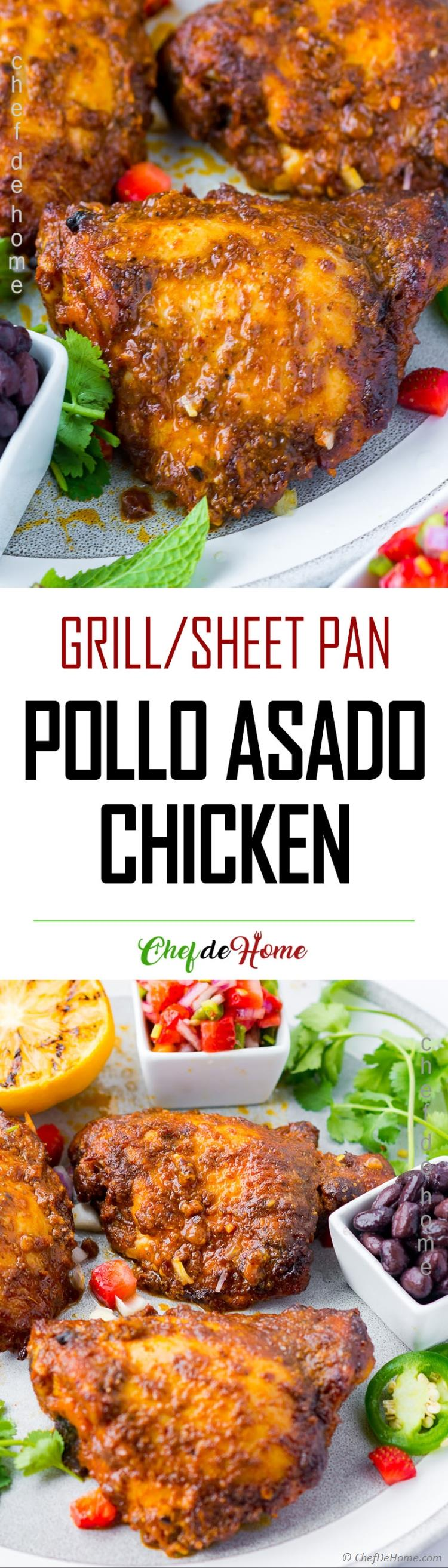 Mexican Grilled Chicken Pollo Asado