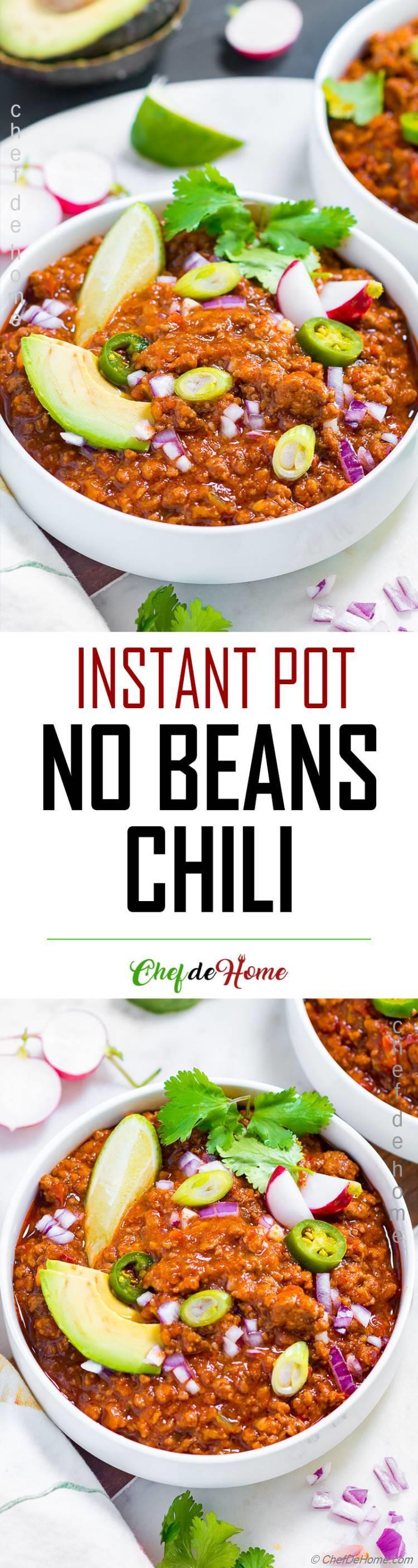 Chili Con Carne No Beans