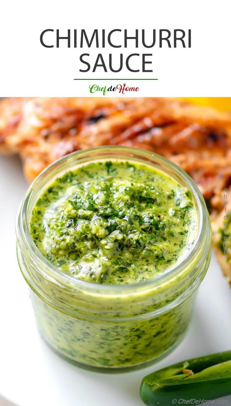 Chimichurri Sauce for Chicken