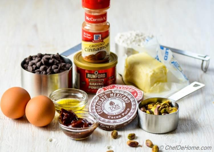 ingredients for Mexican Chocolate Pudding Cake | chefdehome.com