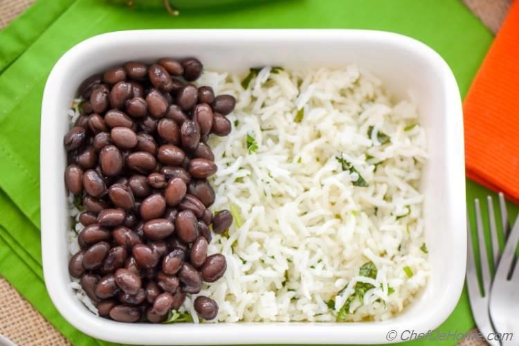 Cilantro Rice Like Chipotle Mexican Grill | chefdehome.com