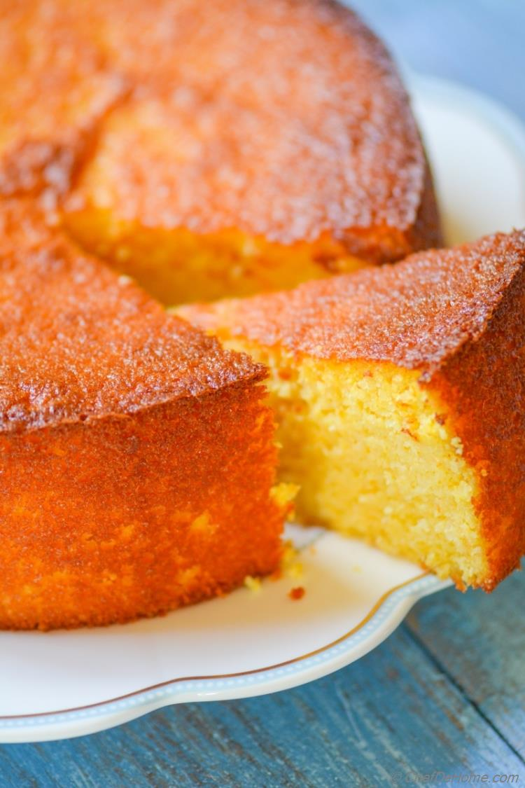 Moist, gluten free, citrus-y clementine cake. An easy recipe and a beautiful cake!