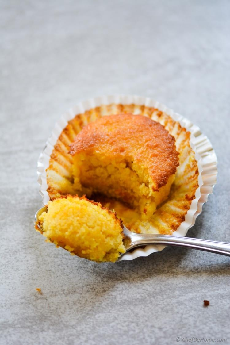 Moist, gluten free, citrus-y Clementine Cup Cakes