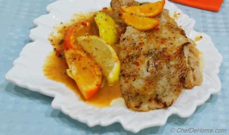 Cod in Citrus Sauce