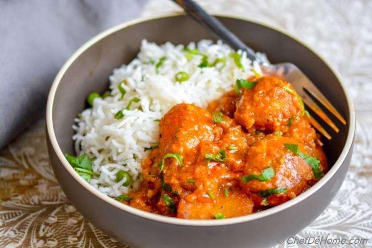 Easy Authentic Kashmiri Dum Aloo | chefdehome.com