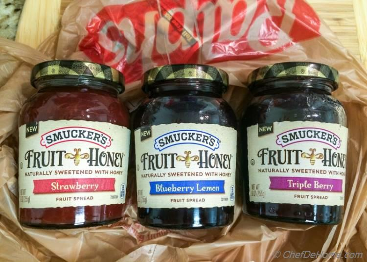 Smuckers Fruit and Honey Fruit Spread