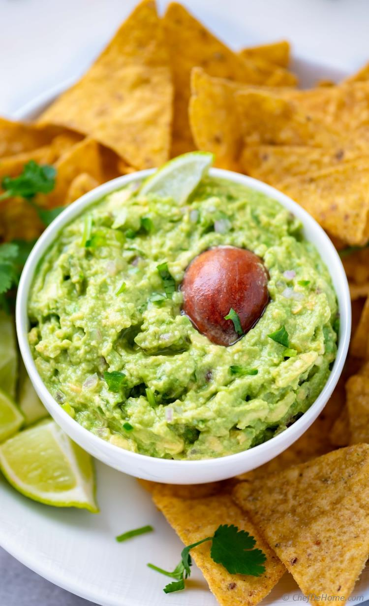 Authentic Guacamole Recipe