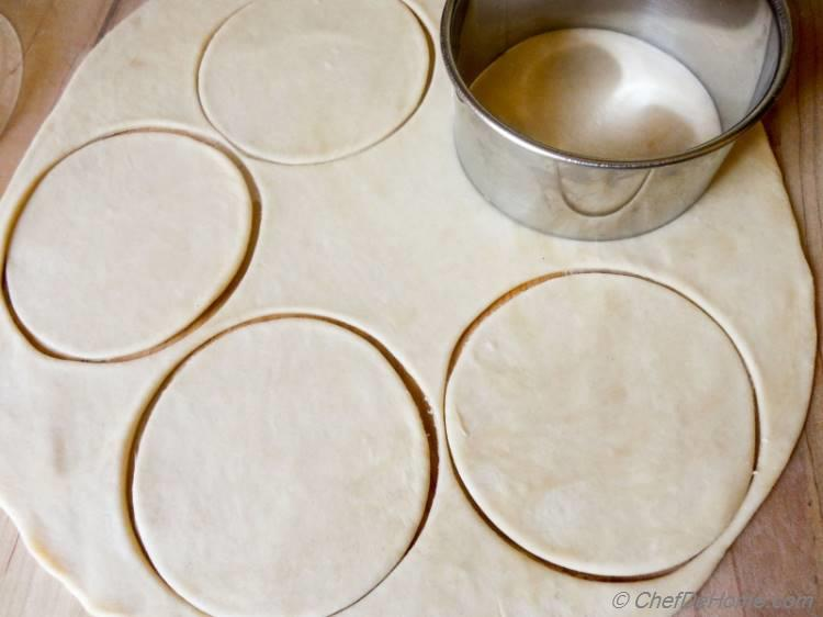 Perfect round and great looking Homemade Flour Tortillas.