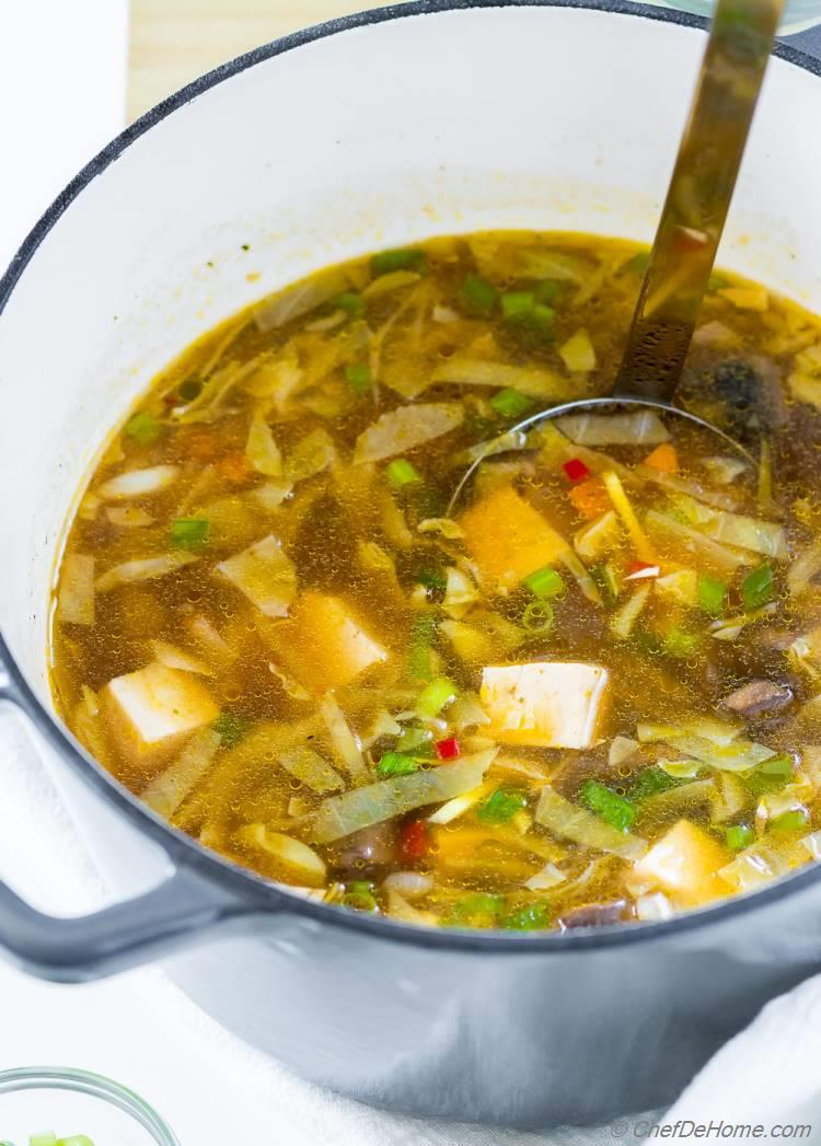 Easy Hot and Sour Soup Pot