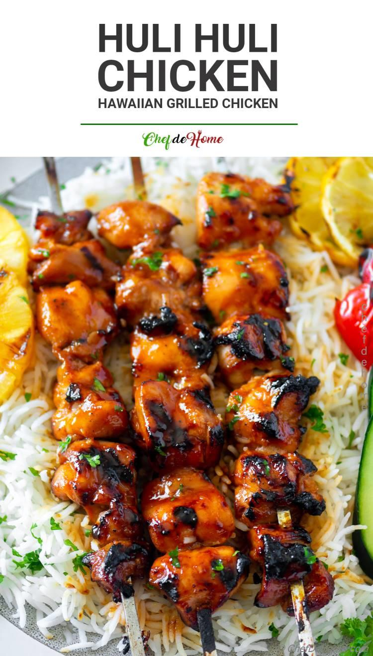 The Best Grilled Chicken with Huli Huli Sauce Recipe