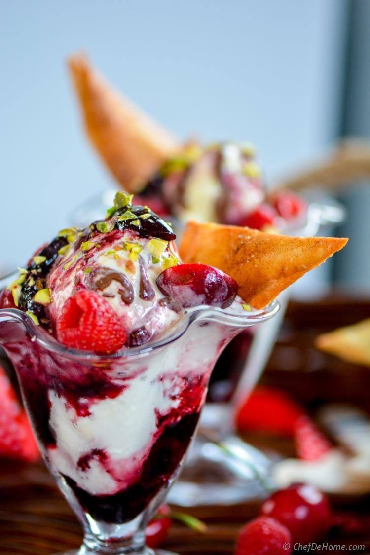 Make Your Own Ice Cream Sundae for Summer Family Fun Dessert | chefdehome.com