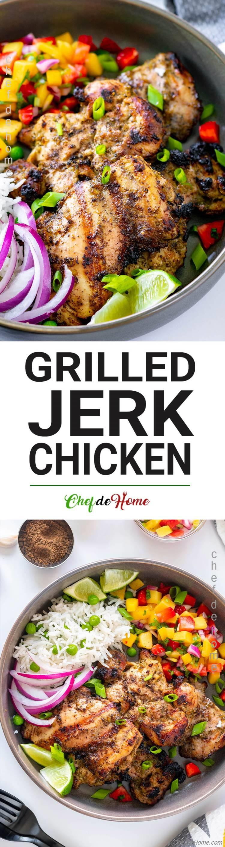 Best Ever Jerk Chicken
