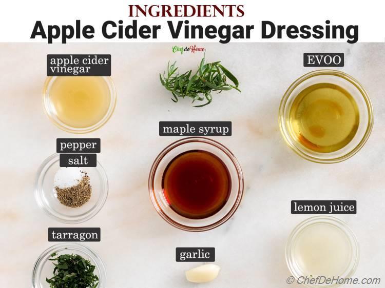 Ingredients Apple Cider Vinegar Dressing for Kale Salad