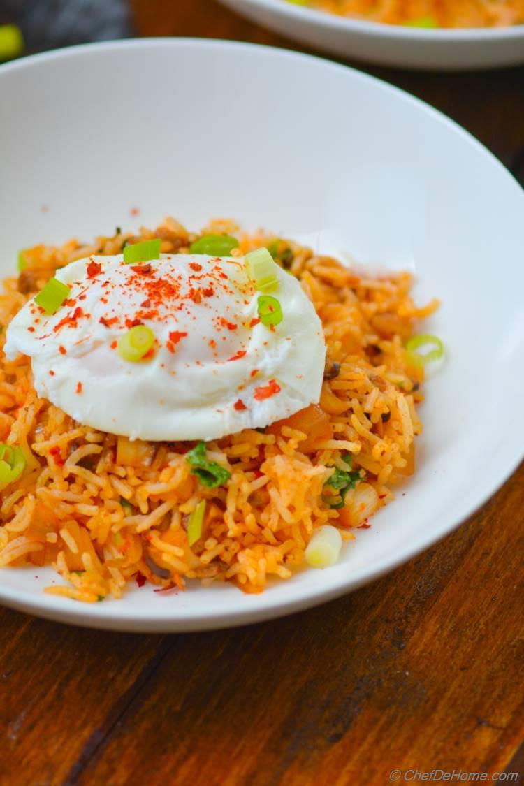 Spicy and Scrumptious Kimchi Fried Rice