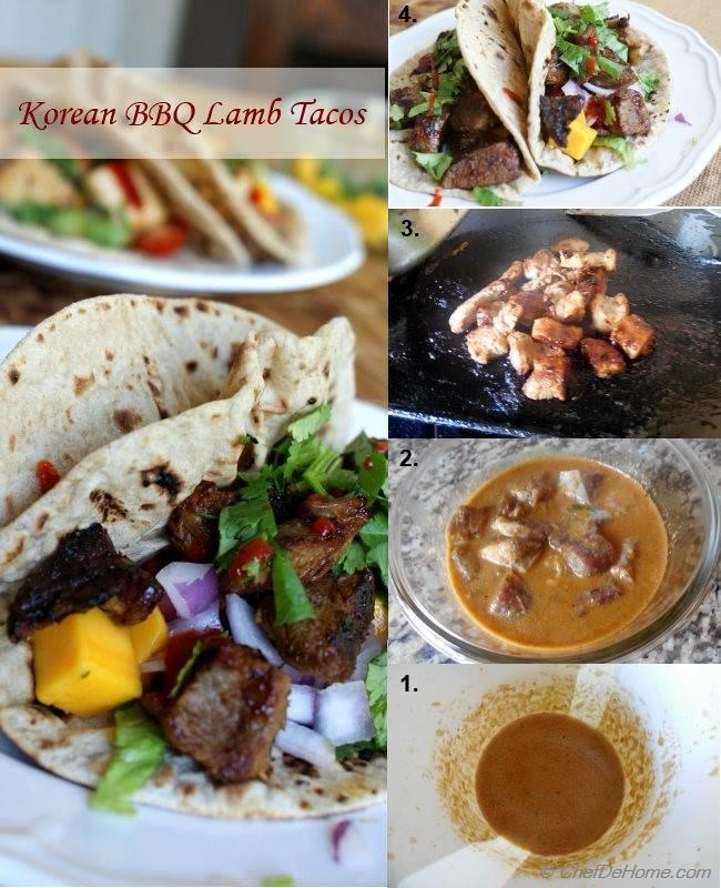 Korean Lamb Tacos