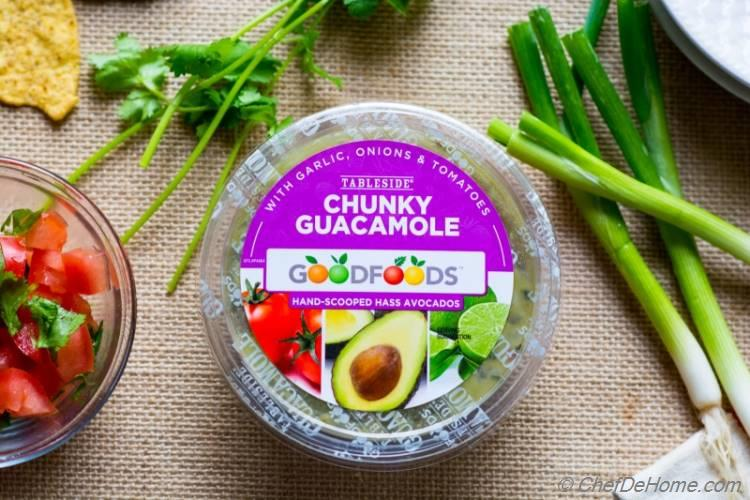 guacamole for 7 Layer Mexican Dip | chefdehome.com