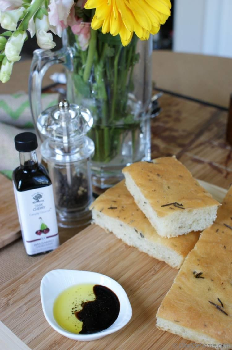 Party Friendly Rosemary Focaccia Bread Bake