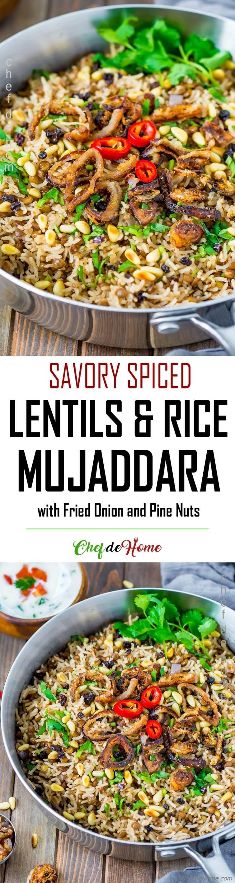 Easy Mujaddara Recipe