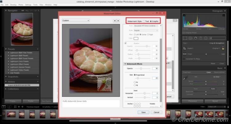 Tutorial - Adding Watermark to Pictures in Adobe Lightroom
