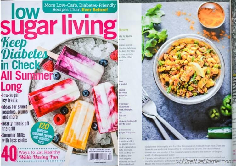 Creamy Tomato Soup Printed in Go Gluten Free Magazine