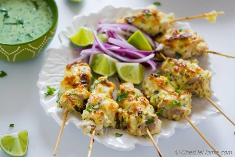 Malai Chicken Kabab