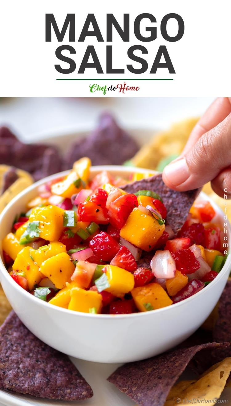 The best-ever Mango Salsa recipe