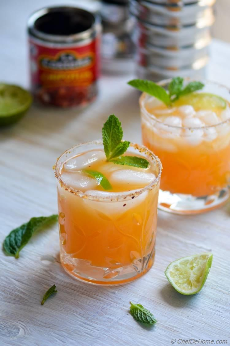 Surprise your guests with Refreshing Orange Adobo Margarita this Cinco De Mayo | chefdehome.com