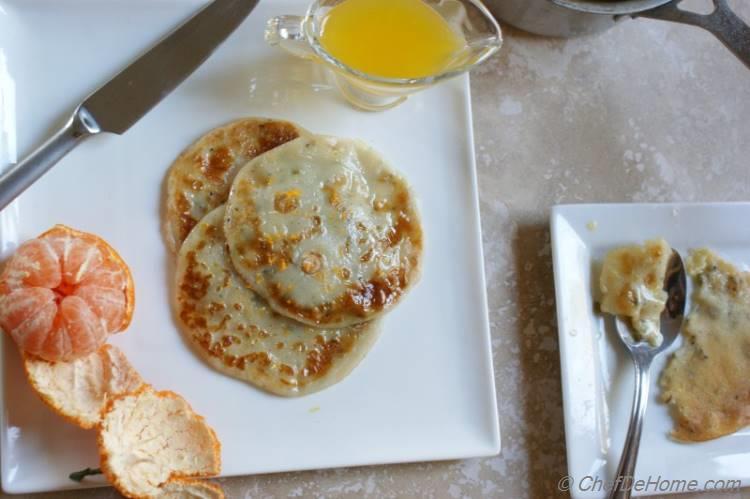 Mini Egg-less Crepes Recipe
