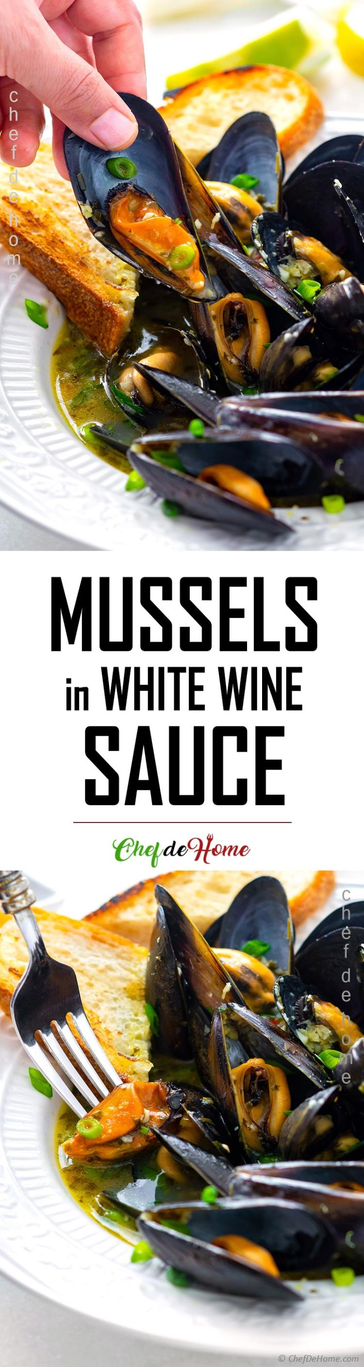 Mussels in White Wine Recipe