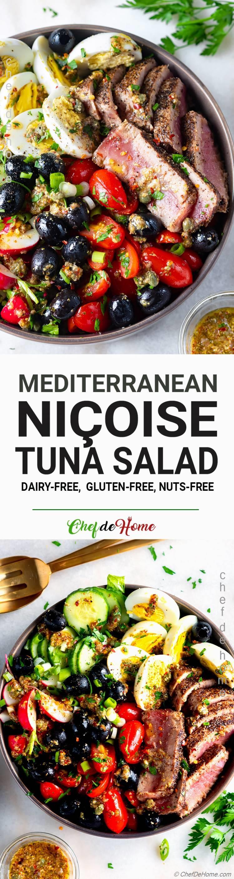 The best Nicoise Salad with Pan Seared Tuna