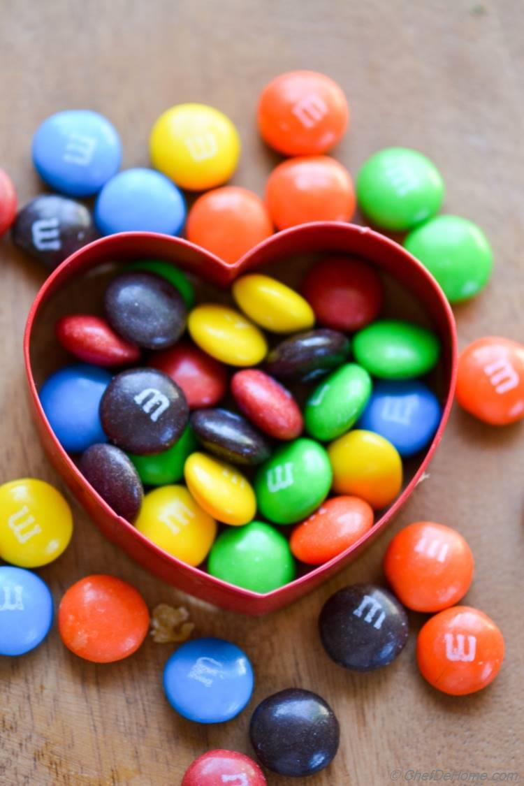 Say I love You with M and Ms