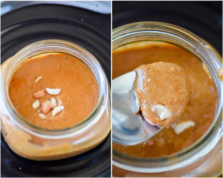 Asian Sweet and Spicy Peanut Sauce for Easy Noodles or Salad at home | Vegan and Gluten Free | chefdehome.com