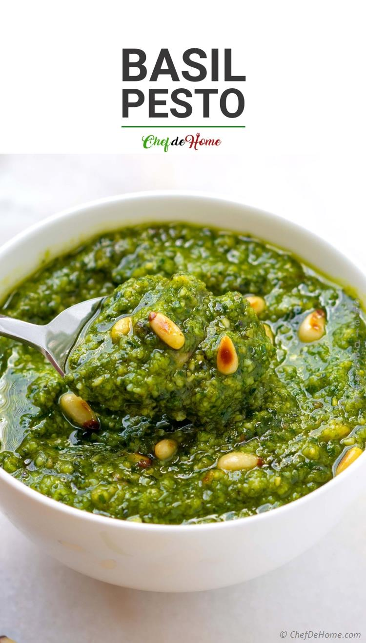 The best Basil Pesto ever