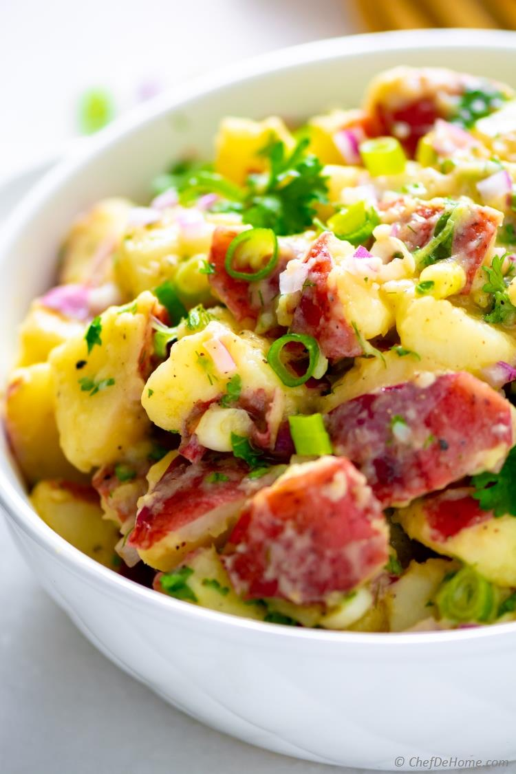 Red Potato German Potato Salad