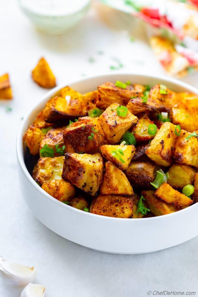 Crispy Ranch Potatoes