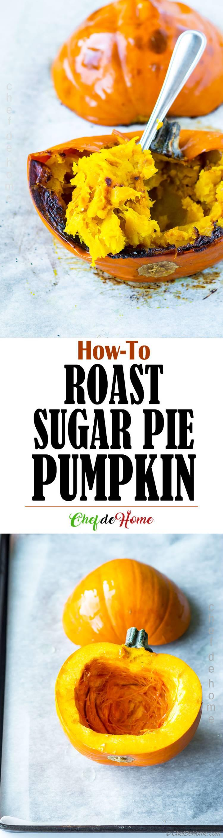 A complete guide to roast pumpkin and make puree