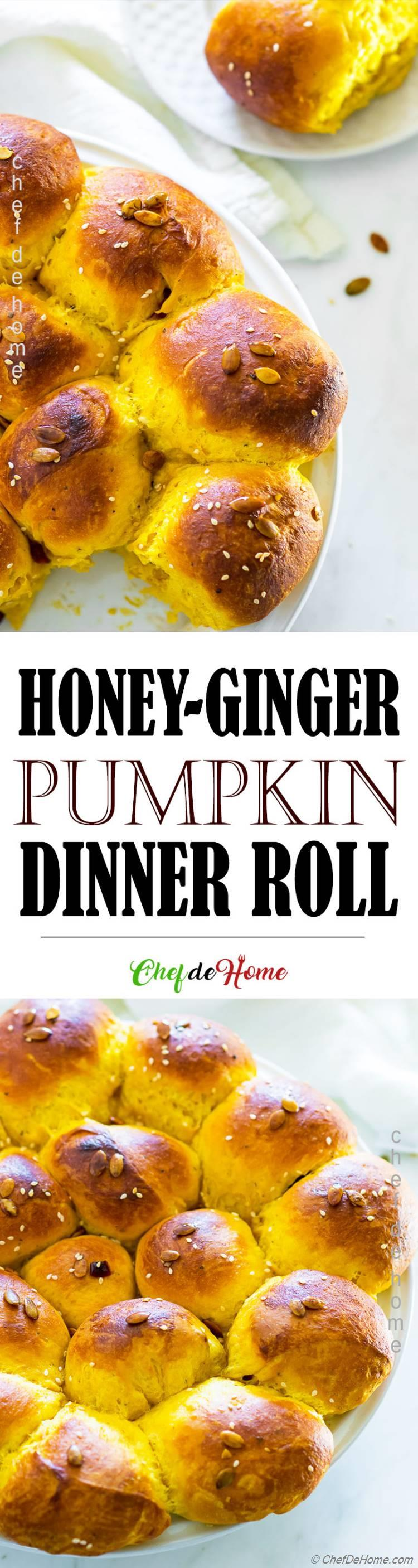 Pumpkin Dinner Roll Recipe
