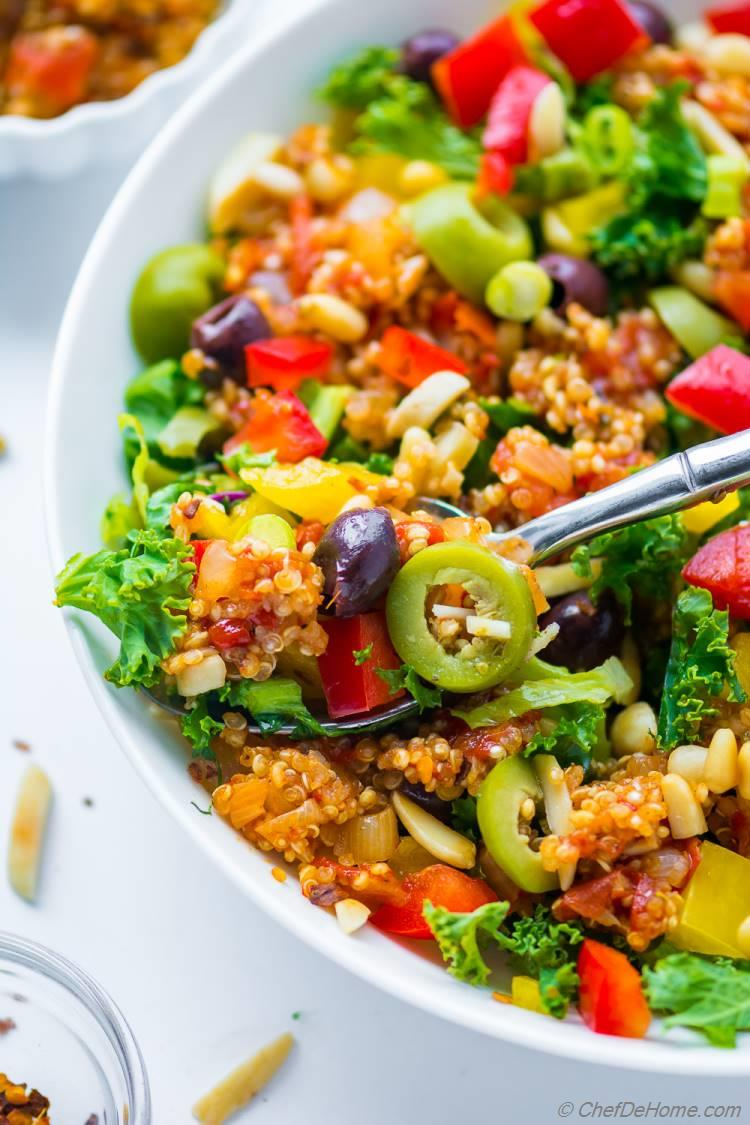 Healthy Greek Quinoa Salad