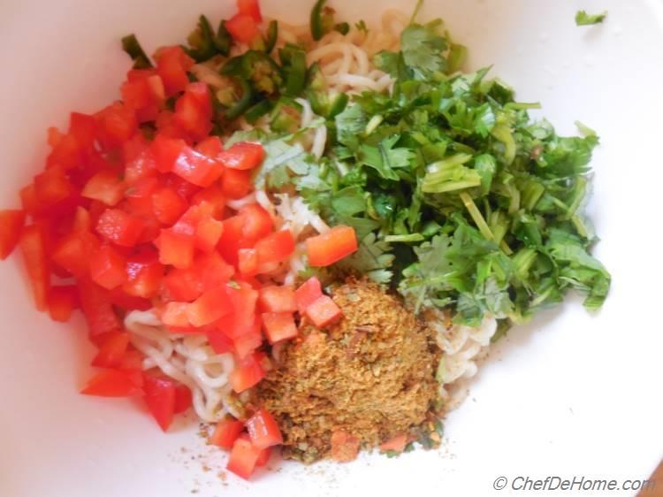 Ramen Noodles Spice Mix - my favorite Maggi Masala!